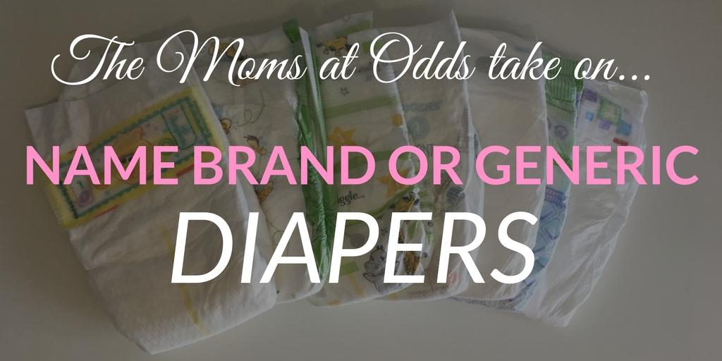 Should moms use name brand or generic brand disposable diapers for baby?
