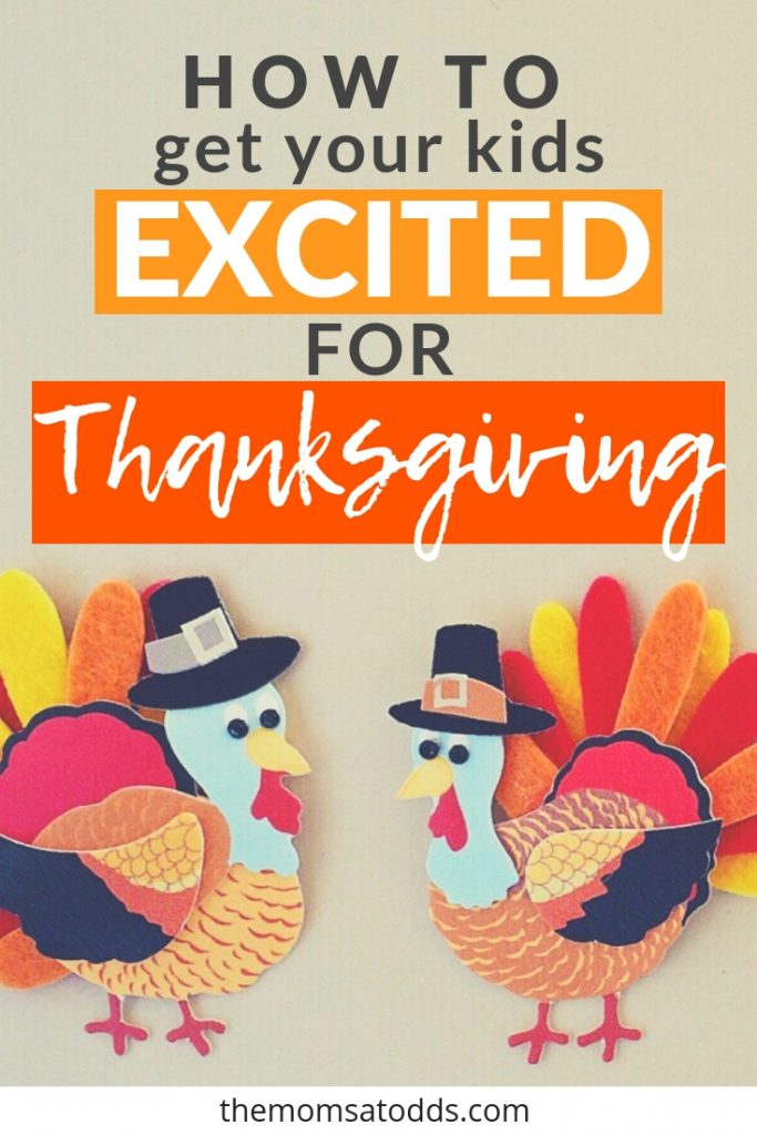 Great ideas for thanksgiving activities to get kids excited about the holiday!