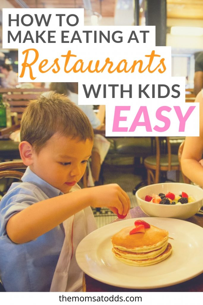 How to survive dining at restaurants with kids, cool ideas to make fun restaurants for kids
