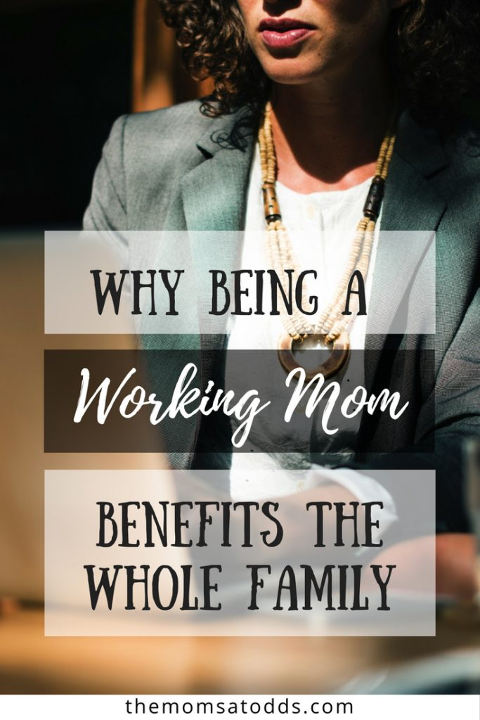 So many great family benefits for moms who work!