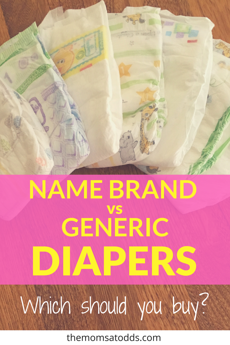Are Name-Brand diapers worth the cost? Should you just get generic?