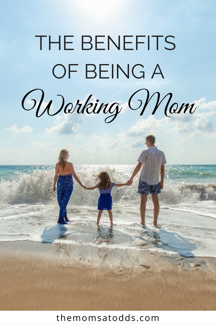 Push that mom guilt away - being a working mom is the best thing you can do for your family!