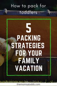 toddler travel airplane packing road trip