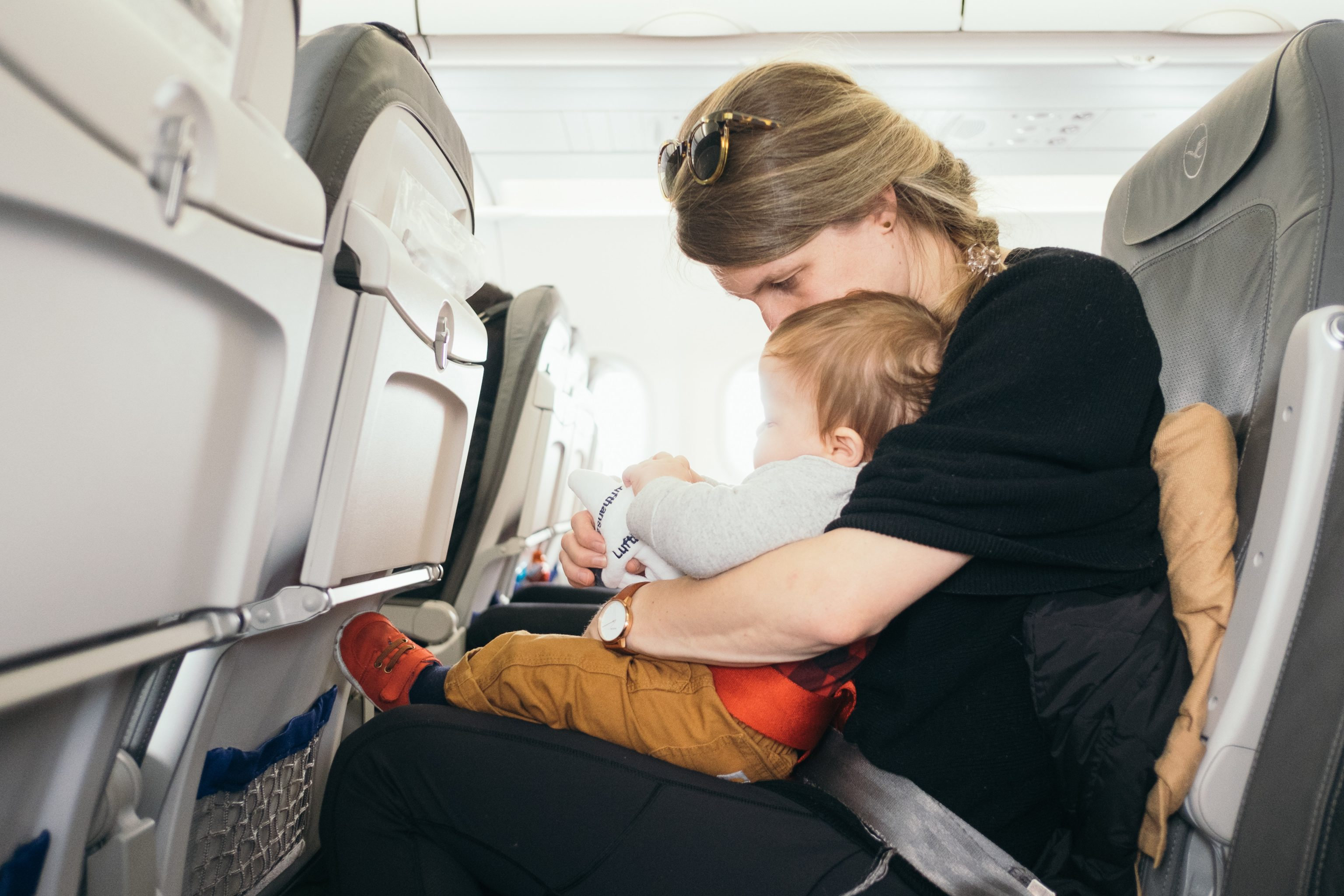 Traveling with Kids on Airplane
