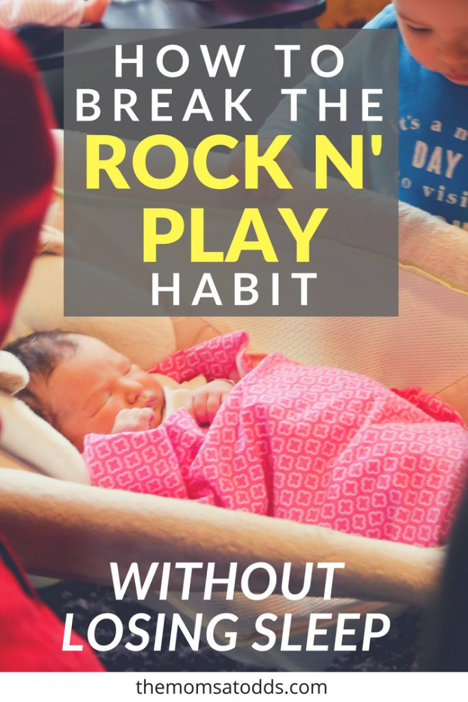 Great tips for the Rock N Play to crib transition