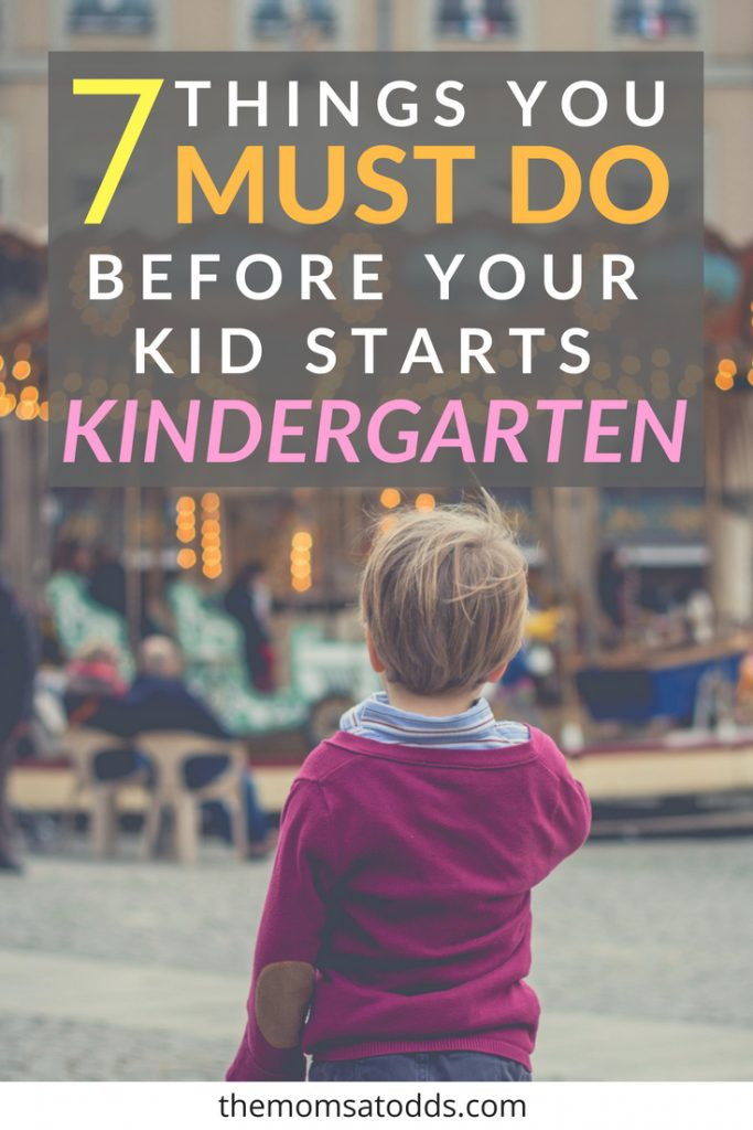 An Amazing Before Kindergarten Checklist