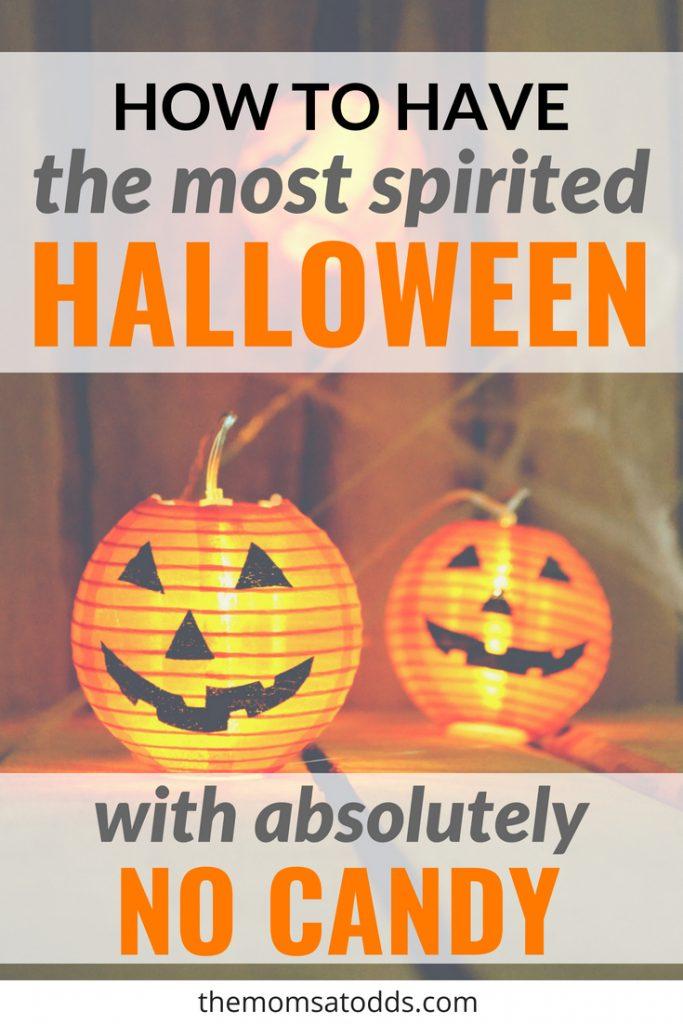 no candy halloween treats
