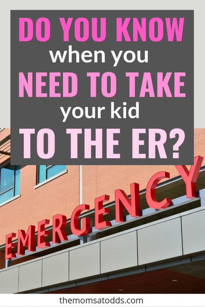 When to Go to the ER for a Sick or Injured Child - Important info every mom should know!