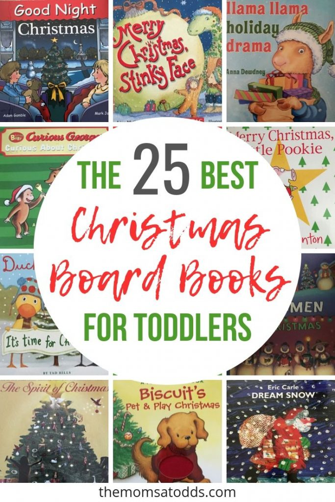 25 Christmas board books your toddlers will love