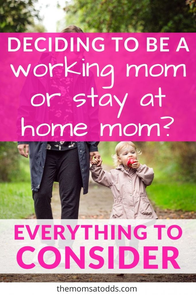 Debating Working Mom vs Stay at Home Mom? Here's What You Need to Consider