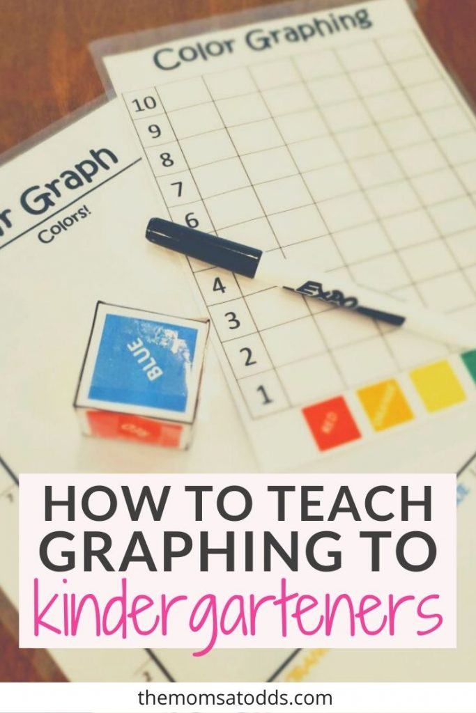 Fun and Easy Graphing Activity for Kindergarteners at Home