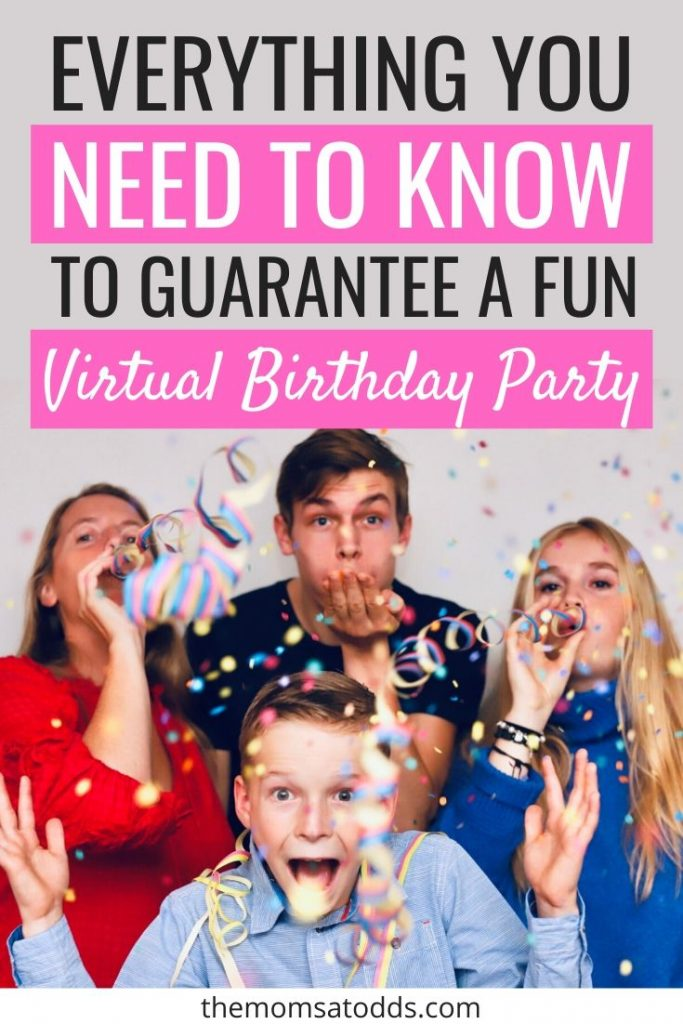 The Top 10 Virtual Party Ideas to Make Your Kid Feel Special
