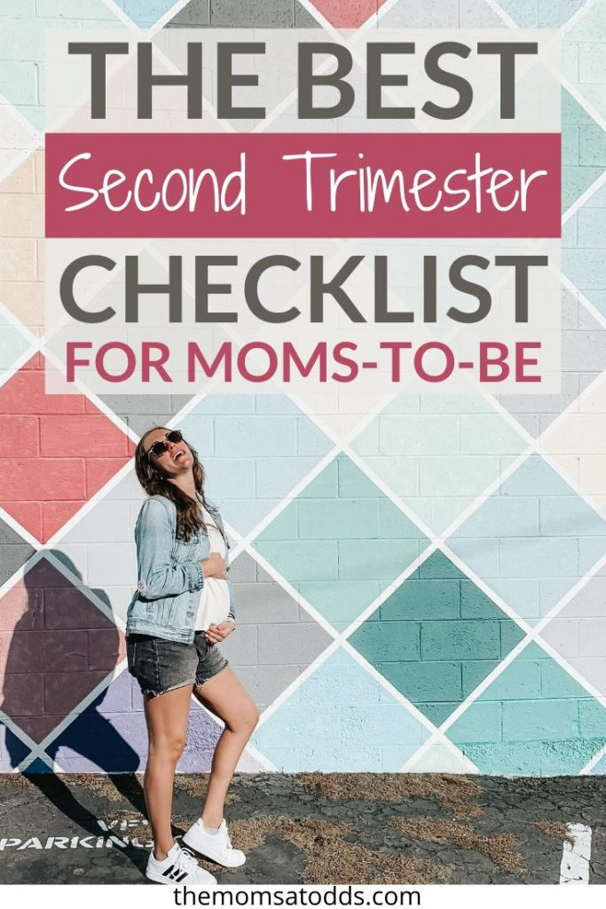The Best Second Trimester Checklist to Keep You on Top of Everything