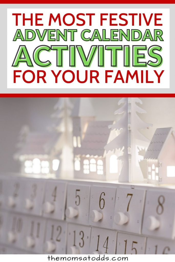 40+ Festive Advent Calendar Activities for Kids