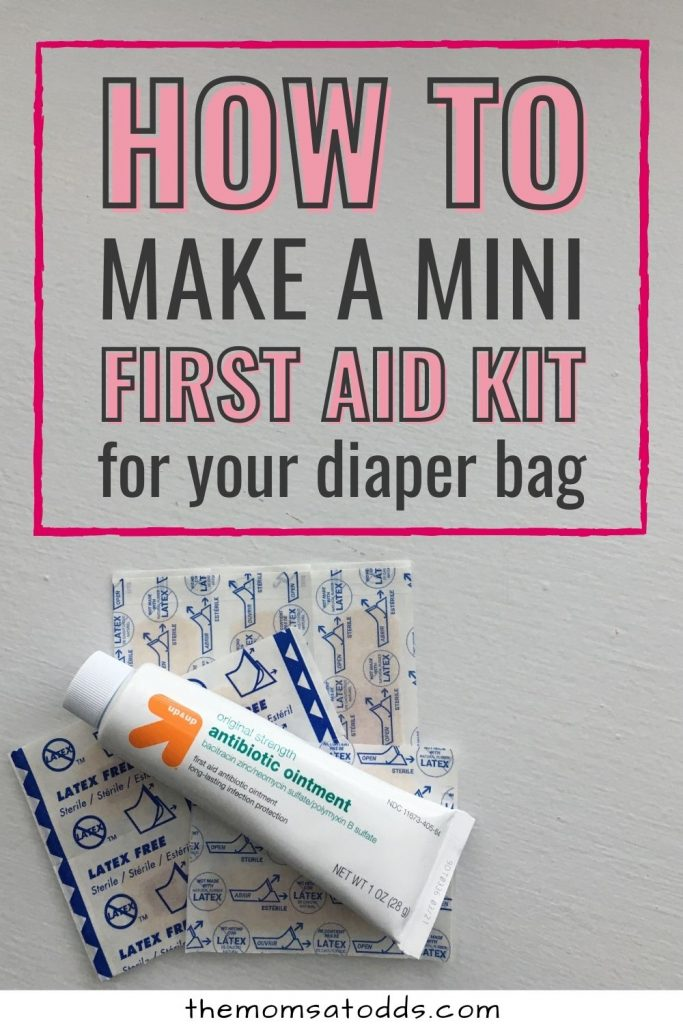 How to Make a DIY Diaper Bag First Aid Kit