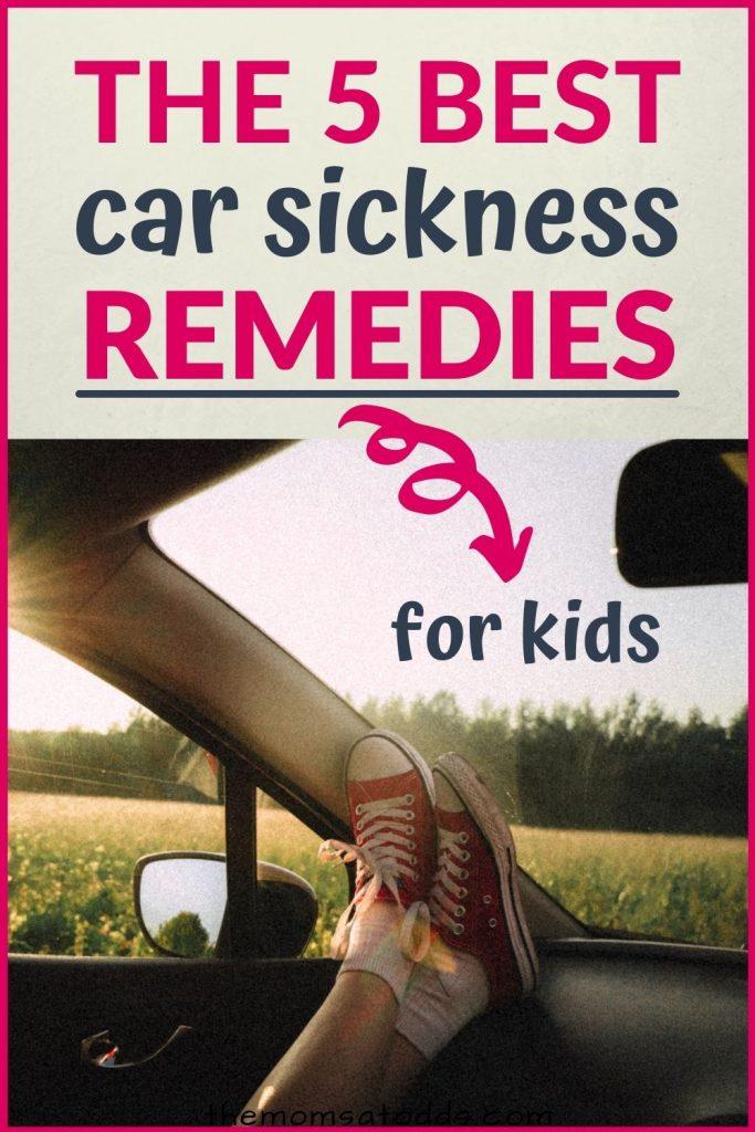 5 Super Effective Car Sickness Remedies for Kids