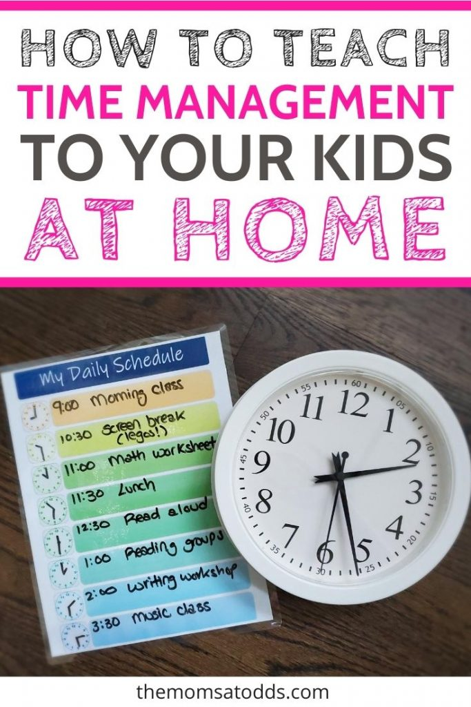 Can You Teach Time Management for Elementary Students?